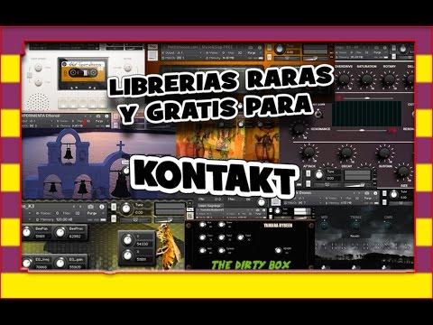 Librerias Kontakt, raras y gratis. Algunas muy buenas!! Lee descripción