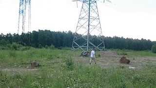 Волновое метание ножей 11 метров с хвостиком)))