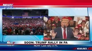 LIVE: President Donald Trump Rally - Hershey, Pennsylvania