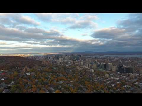 Mont Royal & Downtown Montreal - Drone Footage!!