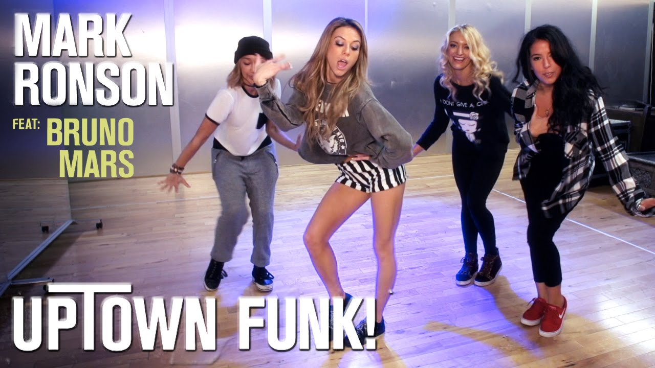 Mark Ronson - Uptown Funk ft. Bruno Mars (Dance Tutorial) | Mandy Jiroux
