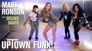 Mark Ronson - Uptown Funk ft. Bruno Mars (Dance Tutorial)(A step-by-step choreography tutorial of the Mark Ronson