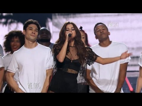 Selena Gomez - Kill Em With Kindness Live WE DAY 2016 (Vocal Edit)