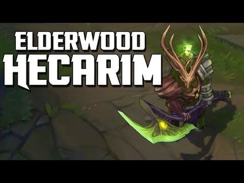 Elderwood Hecarim Skin Spotlight
