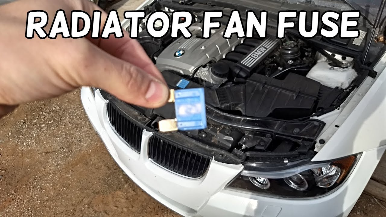radiator fan fuse location and replacement bmw e90 e91 e92 e93 [ 1280 x 720 Pixel ]