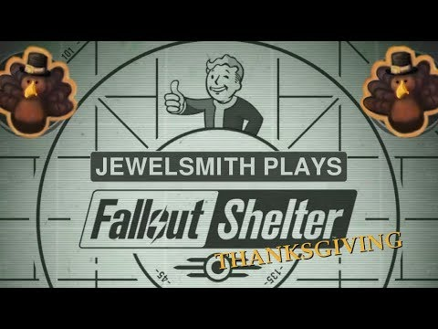FALLOUT SHELTER Part 3 - Thanksgiving - PS4