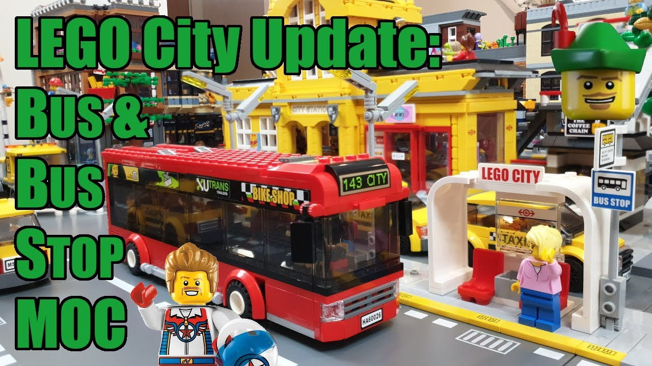 LEGO City Update - Bus & Bus Stop MOC 🚌🏹