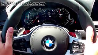 LAUNCH CONTROL F90 BMW M5 0-100 km/h 3,4 s. 600 HP and 750 Nm