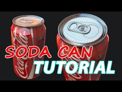 Autodesk Maya 2018 - Soda Can Tutorial