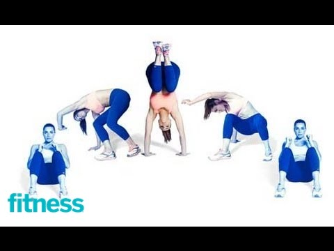 20-Minute Workout: Capoeira Sit-Up to Half Handstand Exercise | Fitness
