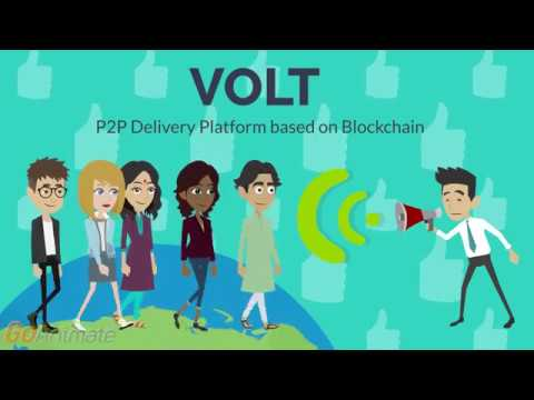 VOLT. P2P Delivery Platform based on Blockchain