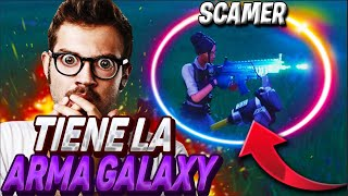 😱 SCAMEO with WEAPON POWER GALAXY New ELEMENT?😱 Child Very AGGRESSIVE Rat - Fortnite Scamer get scam