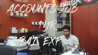 Dubai Accountant Job 1 year experience share (CA/ACCA/MBA/CMA)