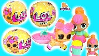 LOL Surprise Pets ВИХОВАНЦІ ЛОЛ! Сюрпризи ЛОЛ 3 Серія - Іграшки | Травень Тойс Пінк