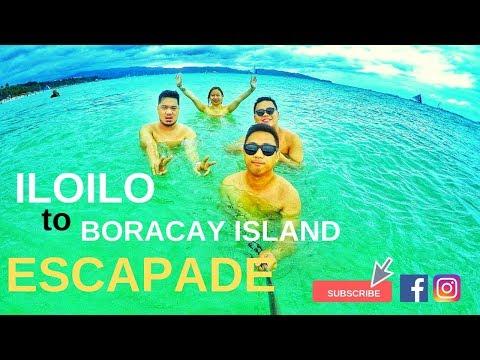 Trip to Iloilo and Boracay Travel Vlog