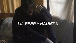 ☆ lil peep ☆  // haunt u lyrics