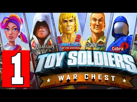 Toy Soldiers War Chest: Walkthrough Part 1 Gameplay Lets Playthrough Review PS4 XBOX PC