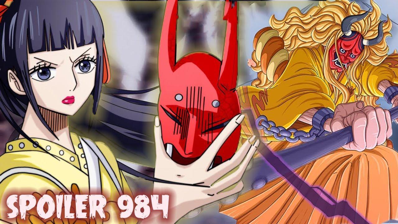 Spoiler Op 984 Yamato Perempuan Titisan Alvida Info Penting Terkait Manga One Piece 984 Youtube