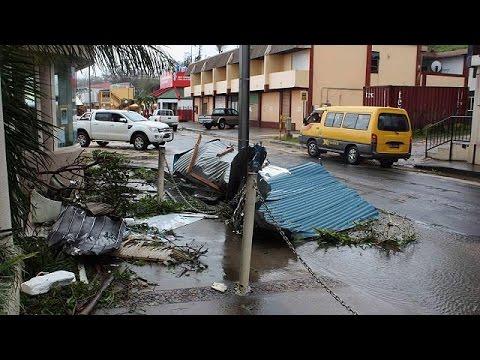 Cyclone Pam sur le Vanuatu : l'état d'urgence décrété