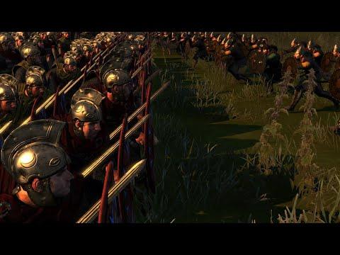 Roman Noodle Column Formation Shield Wall Tactics - Total War Attila Mechanics |