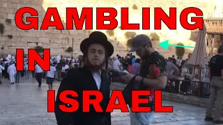 Gambling IN ISRAEL! The Search For Action. (Gambling vlog)
