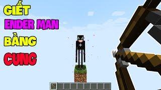 Top 5 Điều Thú Vị Mà Bạn Có Thể Chưa Biết Khi Chơi Minecraft - Giết Ender Man Bằng Cung !!? thumbnail