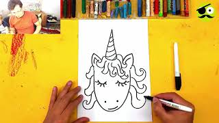Learn To Draw A Unicorn