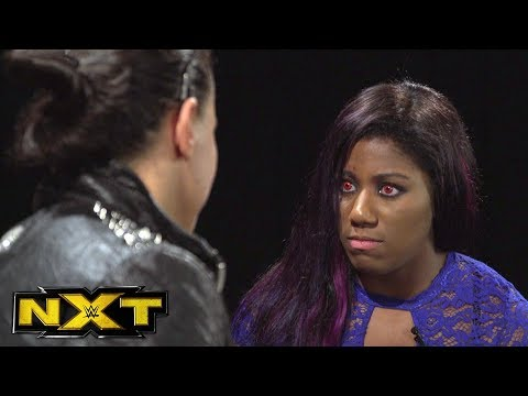 Ember Moon & Shayna Baszler come face-to-face days before their Title Match: WWE NXT, Jan. 24, 2018