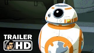 STAR WARS RESISTANCE Trailer #1 (2018) Disney Series