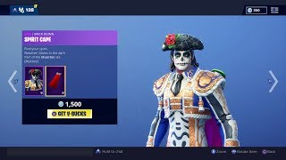 "*NEW* ""Dante"" Skin! Fortnite ITEM SHOP [November 1] 