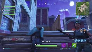 Glitch Cheat At New Building From Tilted Towers [Fortnite]
