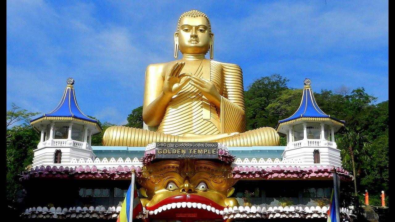 sri lanka buddhist temple - 1280×720