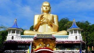 Sri Lanka Dambulla temples