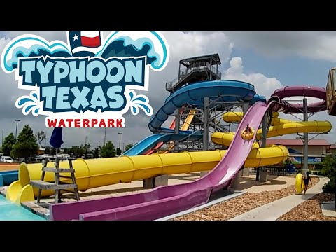 Typhoon Texas Waterpark (Austin) 2019 Tour & Review With Ranger