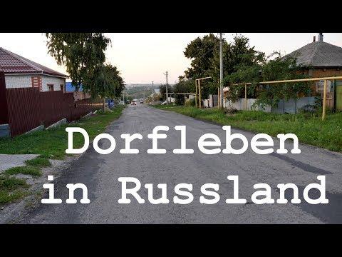Dorfleben in Russland
