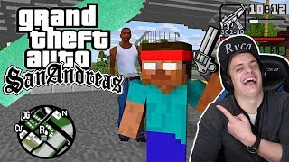 Bazya СМОТРИТ - Monster School : GTA SAN ANDREAS PART 2 - Minecraft Animation