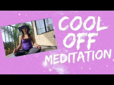 Cool Off Meditation   Breath to Reduce Anger, Cravings, and Fever   Sheetali Breathing Pranayama