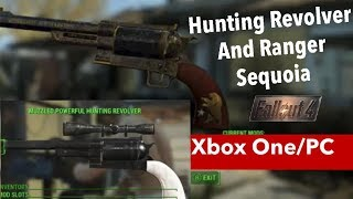 Fallout 4 Xbox One/PC Mods|Hunting Revolver And Ranger Sequoia