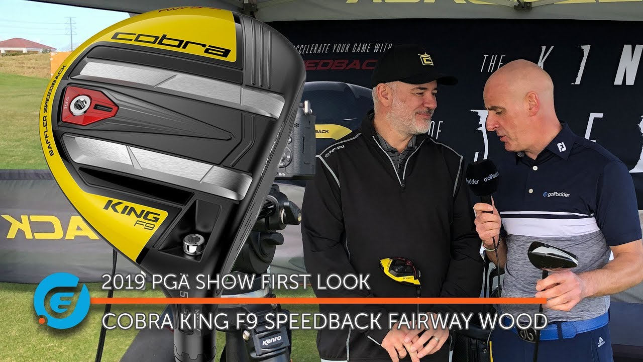 Cobra KING F9 Speedback Tour Fairway - Cobra Fairway Woods