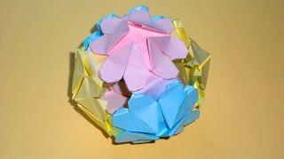 Оригами подарок к 8 марта, день влюбленных ????