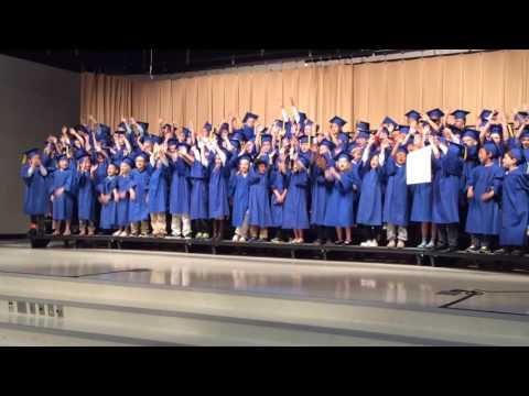 Towne Meadow Elementary School kindergarten graduation 2016