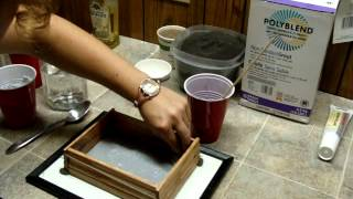 How to make a Grout Formicarium for Ants Part 1 of 3