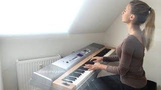 Работы учеников -  Виктория -  Depeche Mode Heaven piano cover -  Уроки фортепиано