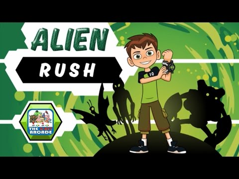 Ben 10: Alien Rush – Earth Is Overrun By Monsters, Transform and Save It! (Cartoon Network Games)