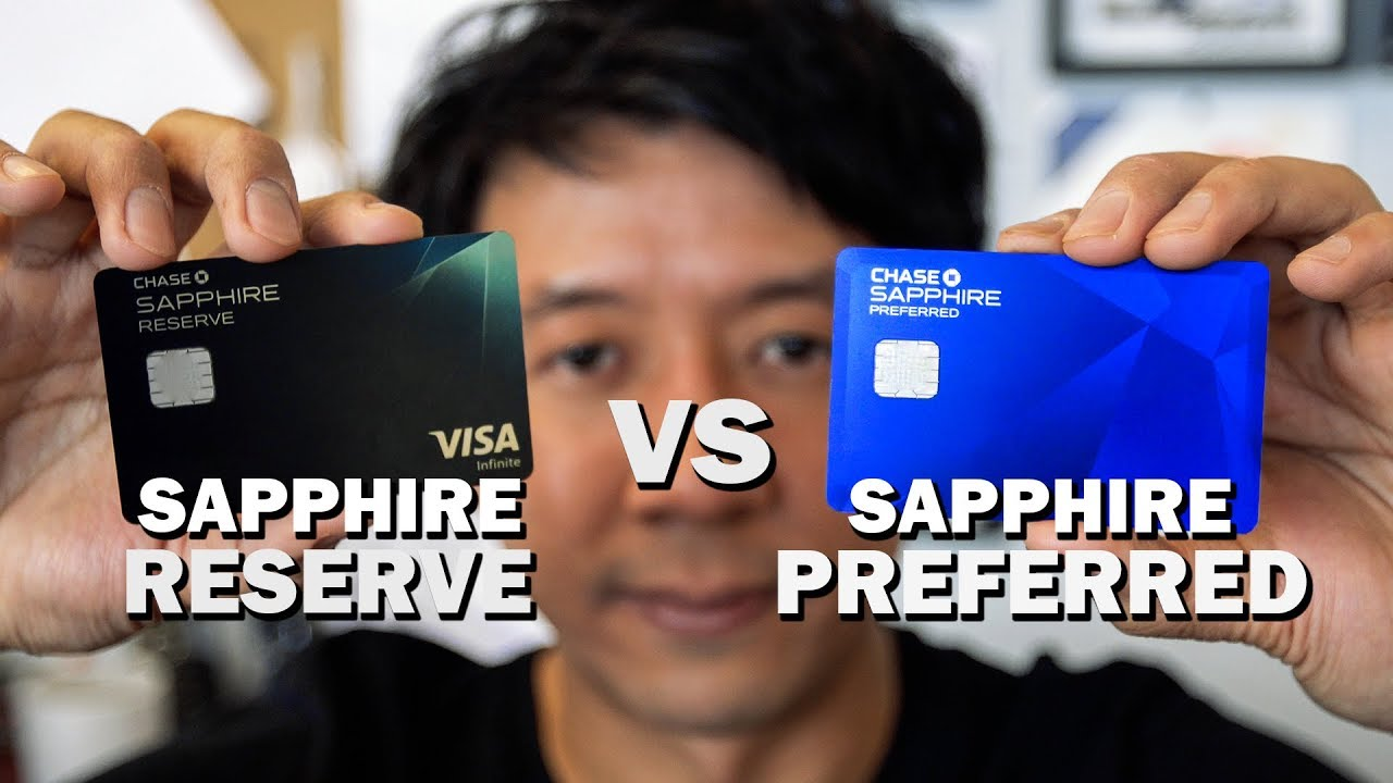 Chase Sapphire Preferred Vs Reserve Perks Benefits And Best For Travel Youtube
