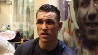 CALLUM SMITH REACTS TO 7th RND STOPPAGE OVER CESAR REYNOSO, BADOU JACK, & BUTE FAILED DRUG TEST