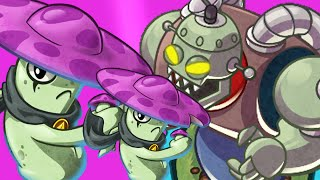 Plants Vs Zombies Heroes: Epic Hardest Battle Science Vs Night Cap Zombie!