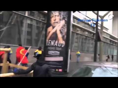 Paris'te PKK'ya Meydan Dayağı. (Azeri Türkleri PKK'yi Af Etmedi)