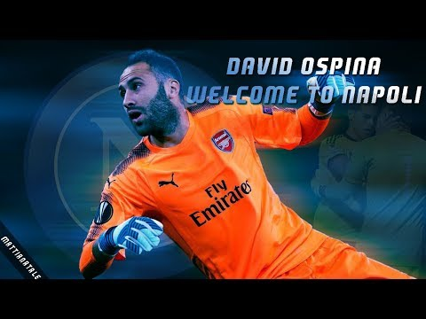 David Ospina Welcome to Napoli|Best Saves