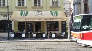【チェコ】 プラハ市電 その5 マラー・ストラナ広場付近 Trams in Malostranské náměstí Prague, Czech Republic (2014.4)